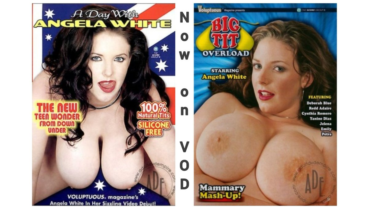 Voluptuous Magazine's owners @TheScoreGroup readily accepted @ANGELAWHITE's application to model. Vids followed & are now avail. as VOD via: