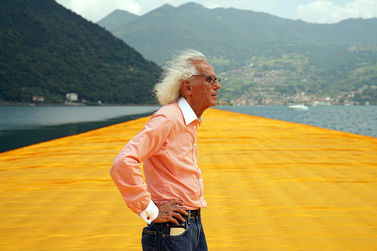 test Twitter Media - Christo passed away today, on May 31, 2020, at his home in New York City. Christo and Jeanne-Claude have always made clear that their artworks in progress be continued after their deaths. L'Arc de Triomphe, Wrapped (Project for Paris) is still on track for Sept. 18–Oct. 3, 2021. https://t.co/xHPURw60w2
