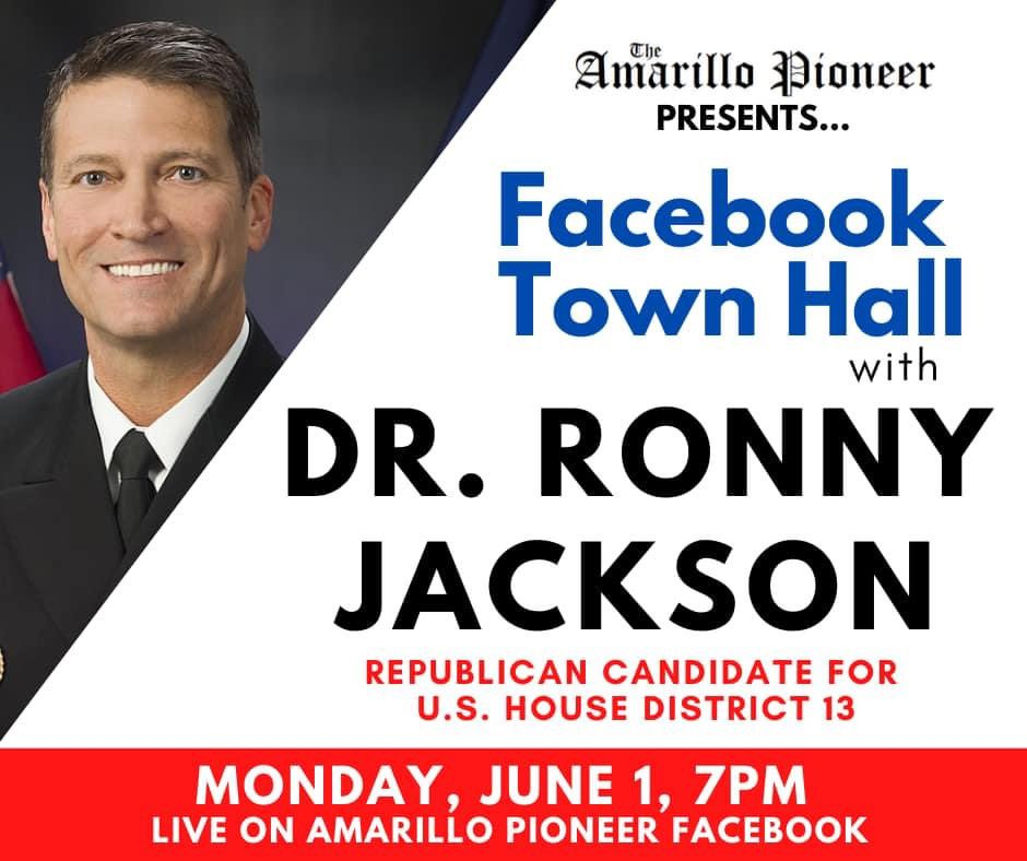 hope everyone can tune into the Facebook Town Hall with the @AmaPioneer on Monday at 7:00 PM!! #TX13