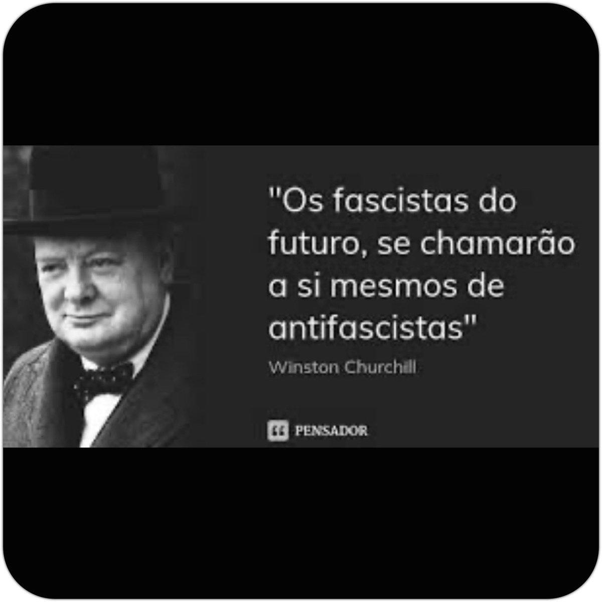 Winston Churchill, o Primeiro-ministro do Reino Unido durante a 2ª guerra mundial. Mais profético impossível!