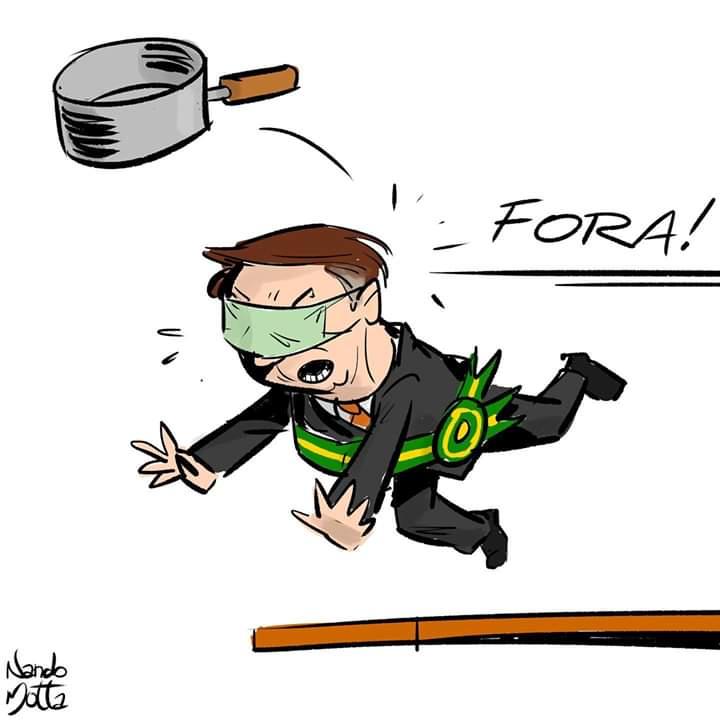 Esse lixo chamado Bolsonaro é o grande responsável por toda essa polarização que cada dia mais cresce no país. Irresponsável, incompetente, irracional. Bolsonaro, sua família e seus seguidores são uma vergonha para o país!  #ForaBol卐onaro  #Fantastico