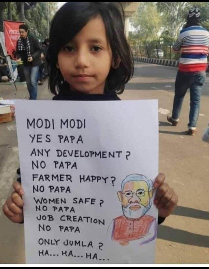 Even Children knows that Narendra Modi is a Failed Prime Minister.  #StepDownModi