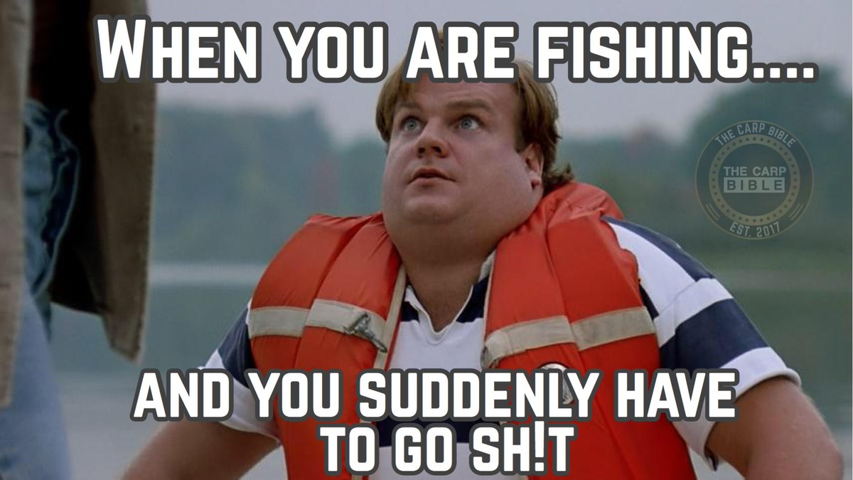 When you are #Fishing and you suddenly have to go SH!T..... 🤣 @TheCARPbible  #Carp #CarpFishing #