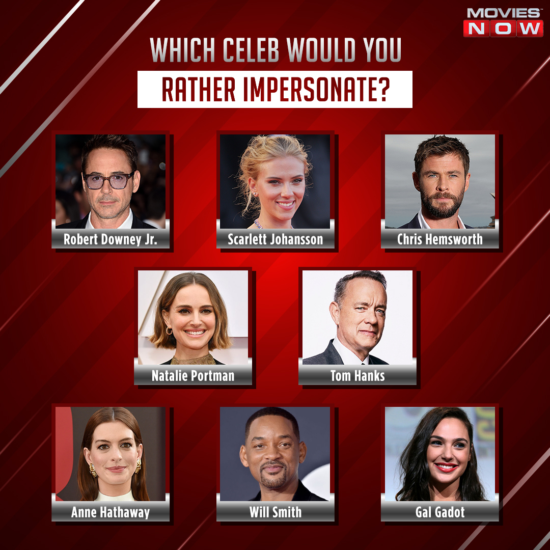Stepping into a celebrity's shoes is what we would love to do! Which star would you want to impersonate from this list? Comment below.  #HollywoodCelebrities