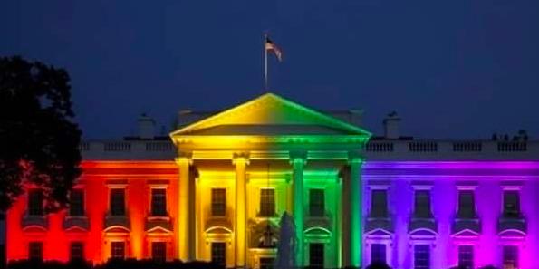 Casa Branca com Obama / Casa Branca com Trump