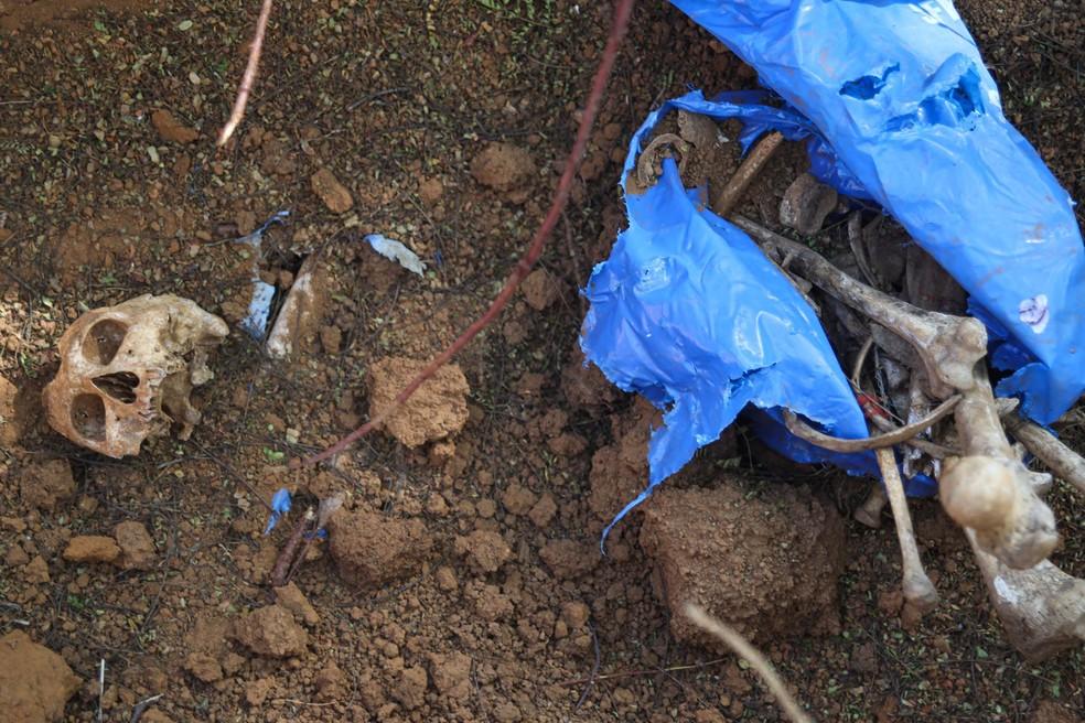 Cemitério da Vila Formosa, na Zona Leste de SP, tem ossadas humanas expostas no local  #G1