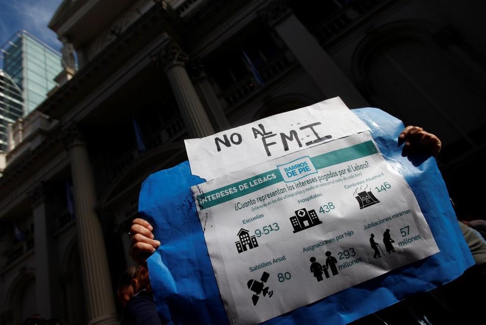 Dívida da Argentina seria sustentável com nova proposta de reestruturação, diz FMI  #G1