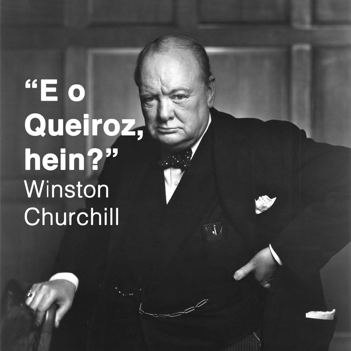 Ae @BolsonaroSP, @CarlosBolsonaro e @FlavioBolsonaro, vocês viram que que o Churchill falou, meninos?