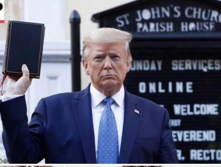 @IngrahamAngle TONIGHT: Trump and Biden visit churches as protests continue. I'll have details. And why are some in the media condoning violence and looting on America's streets? I'll join Laura at 10:50pm E with analysis. #RaymondsReview @FoxNews