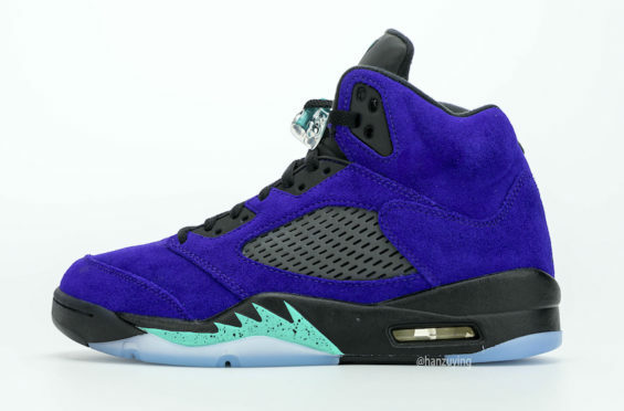 Air Jordan 5 Alternate Grape Now Releasing in July -