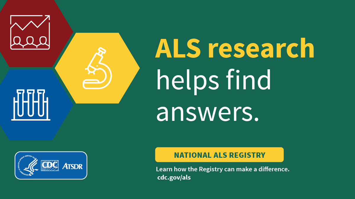 The National ALS Registry does more than fund research; it also collects data to help identify common risk factors among people living with #ALS. Learn more here: