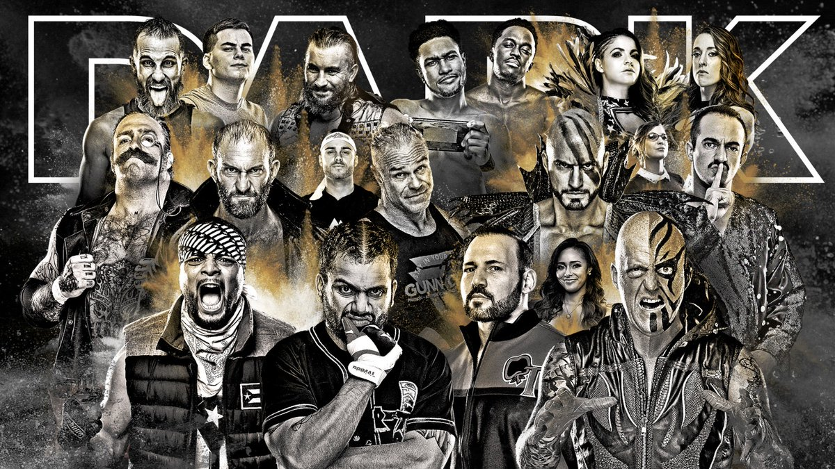 TONIGHT on #AEWDark - We have a jam-packed show ready and waiting to premiere at 7e/6c PM via our YouTube channel at