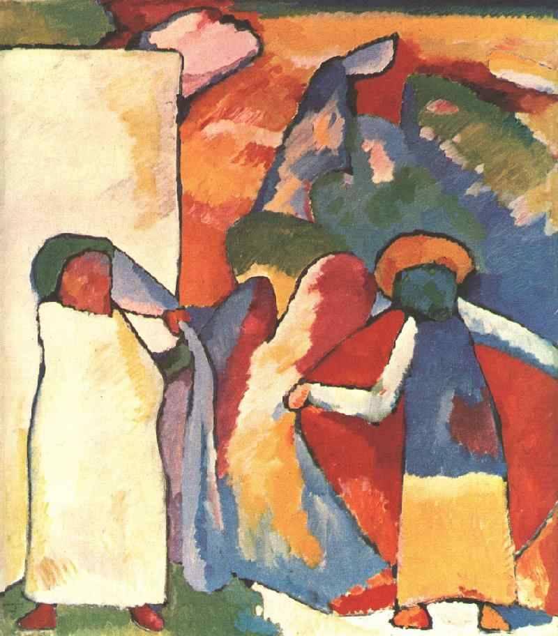 Improvisation 6 (African), 1909, Wassily Kandinsky https://t.co/jEZ4o8fxyq