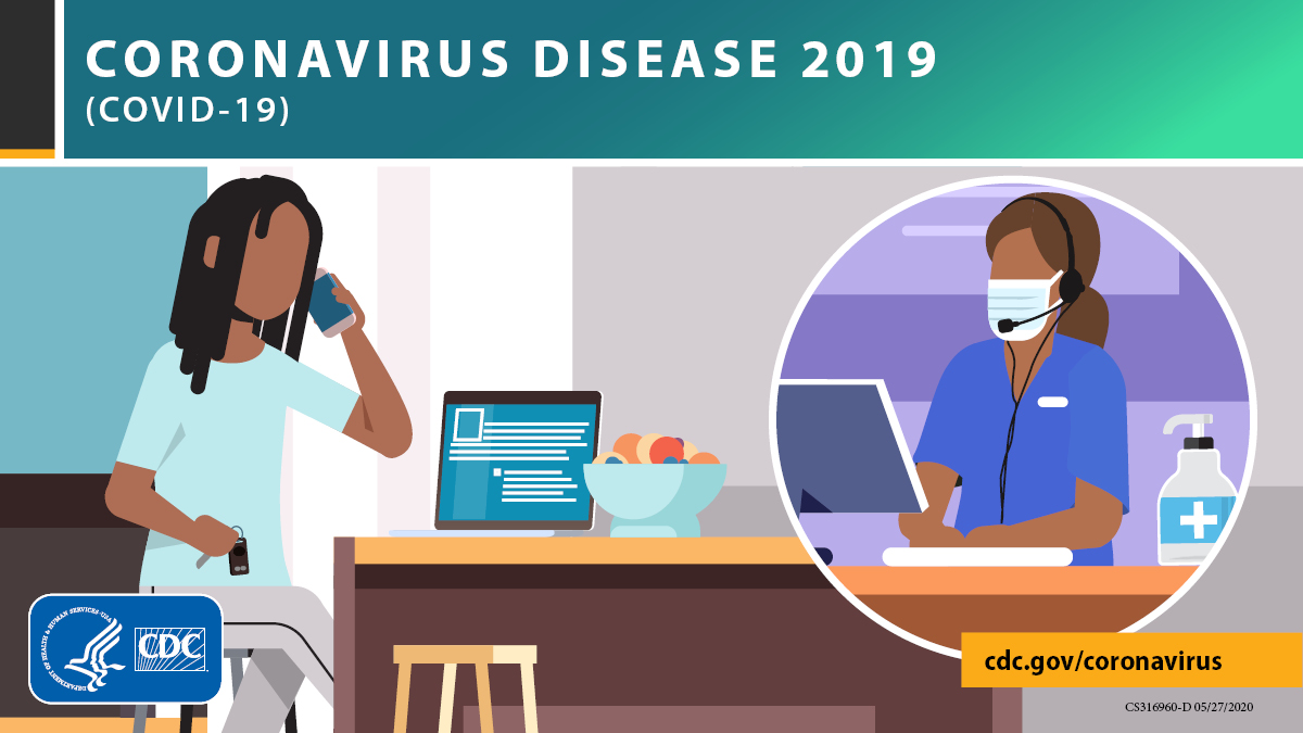 Do not delay necessary medical care during the #COVID19 pandemic. Contact your healthcare provider when you have health concerns. They can follow local and CDC guidance to provide safe care.