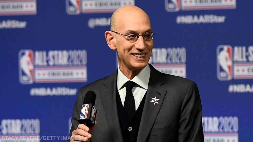"Per @wojespn:  🔺 The NBA's inviting 22 teams to Orlando 🔺 13 Western Conference 🔺 9 Eastern Conference 🔺 Eight regular season games per team  🔺 Play-in for the 8th seeds 🔺 July 31-October 12 🔺 Vote being held tomorrow to ratify   ""The NBA's back."""