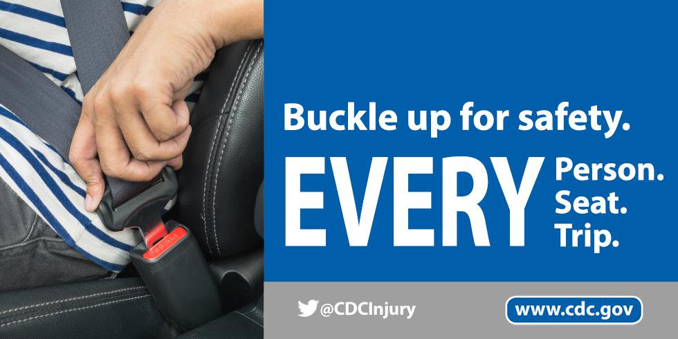 Seat belts save lives. Buckle up for safety on every trip. Get the facts on seat belt use: