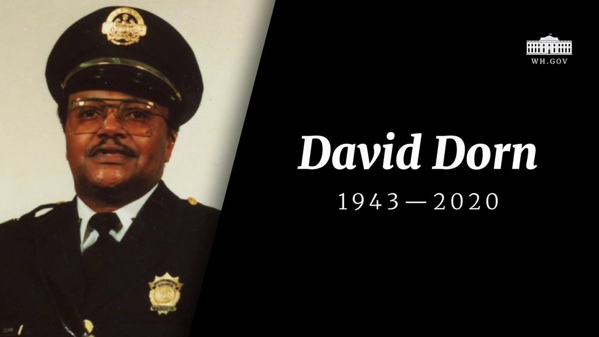 Our hearts go out to the family of Captain David Dorn, who was shot and killed by looters in St. Louis.