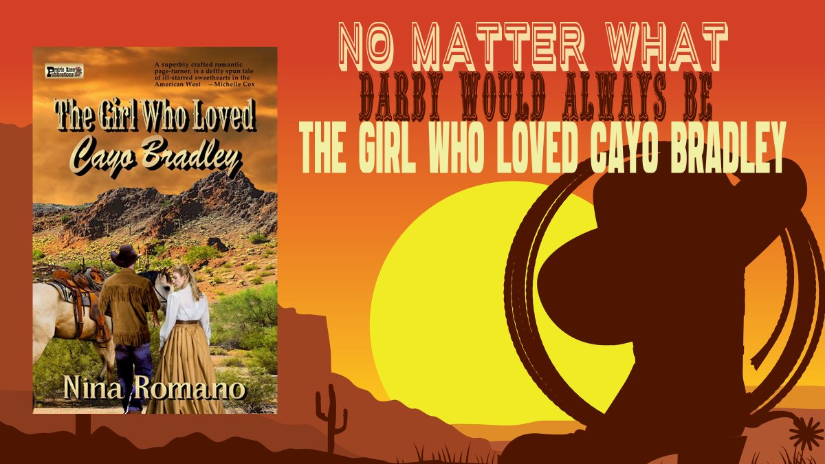 """#RT @ninsthewriter  """"Intense Romance""""  .""""Darby and Cayo's story is an incredible tale of love and sacrifice.""""  #FREE with #KindleUnlimited #ASMSG #bookboost #GreatReads #HistoricalRomance #Western #BookLovers"""