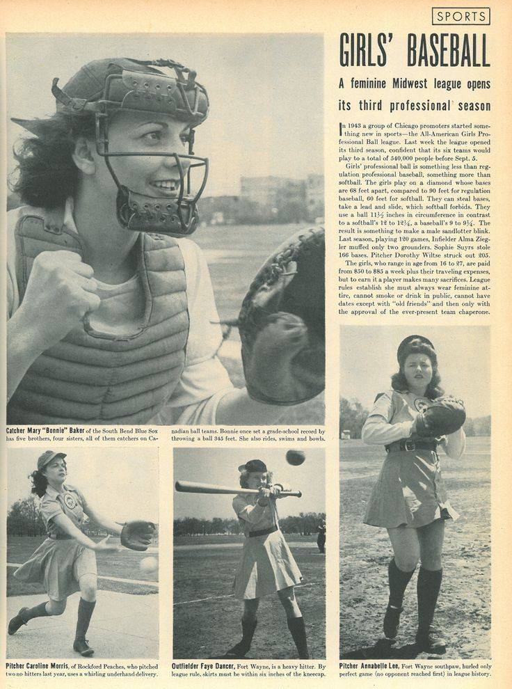 #OTD in 1945, the #AAGPBL was featured in LIFE Magazine! https://t.co/ifV6gfjQ3K