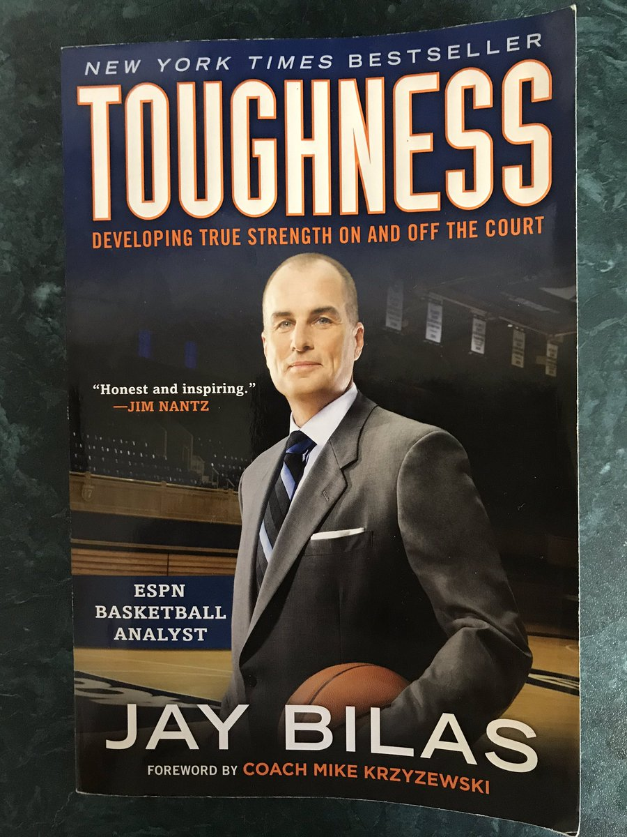 Finished a great book this AM. Has made me a better/tougher coach and person. The insights will help greatly to improve our standards and culture @RamsHoops_RH We will continue to strive to get better every day! @JayBilas