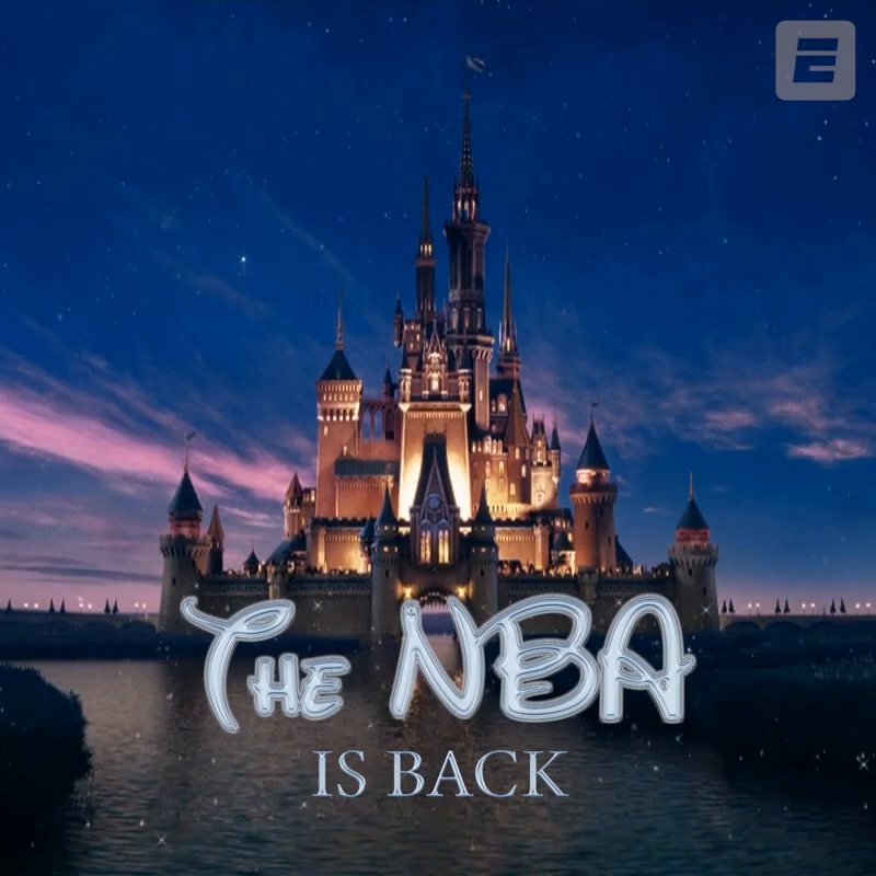 When you wish upon a star ...  Welcome back, @NBA ✨