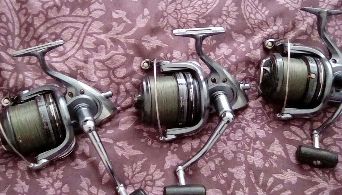 Ad - Shimano Spin Power Aero big pit reels x3 On eBay here -->> https://t.co/yPjX3vRO88  #carp