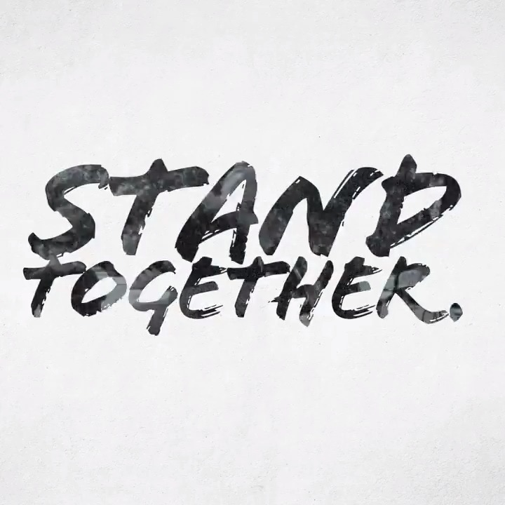 Listen.  Learn.  Heal.  America: Let's stand together.   Let's do better.