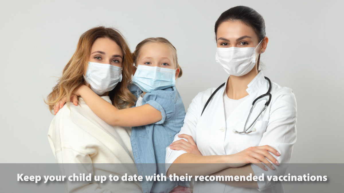 Parents, work with your pediatric provider to make sure your child is on track with their recommended #vaccinations. View the parent-friendly schedule: