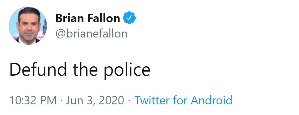 I can't believe I have to say this, but do NOT defund the police.