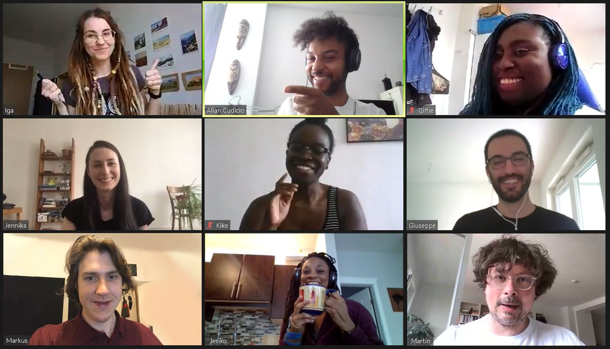 We have't show ourselves yet and this feels like the right time for visibility. Majority female, black+queer led core team working on a PC game? Yes we exist. And we are frigging fabulous💅🏾✨. #gamedevs  #indies #BlackLivesMatter  #PrideMonth