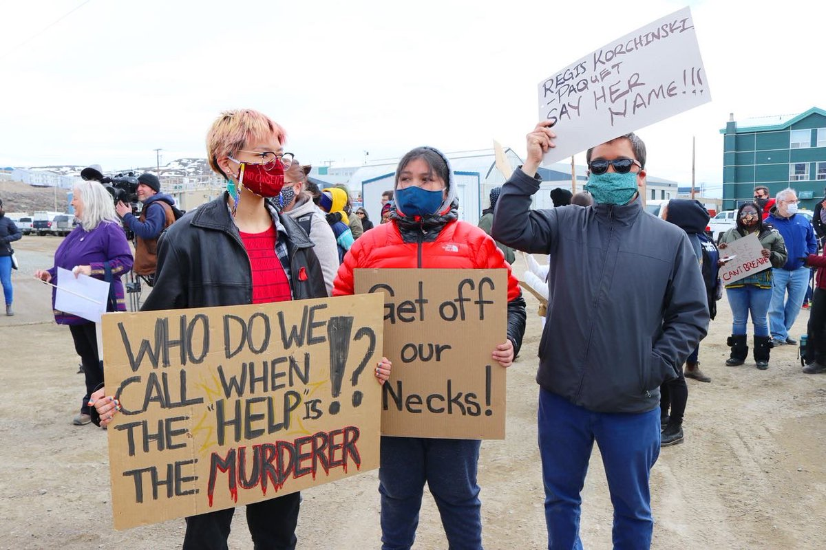 test Twitter Media - First batch of photos from today's #BlackLivesMatter protest in #Iqaluit #Nunavut https://t.co/NOsnGwCfxU