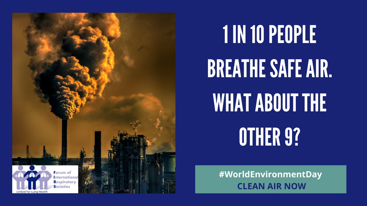 It's #WorldEnvironmentDay. #airpollution https://t.co/Jt1lbCKtQs