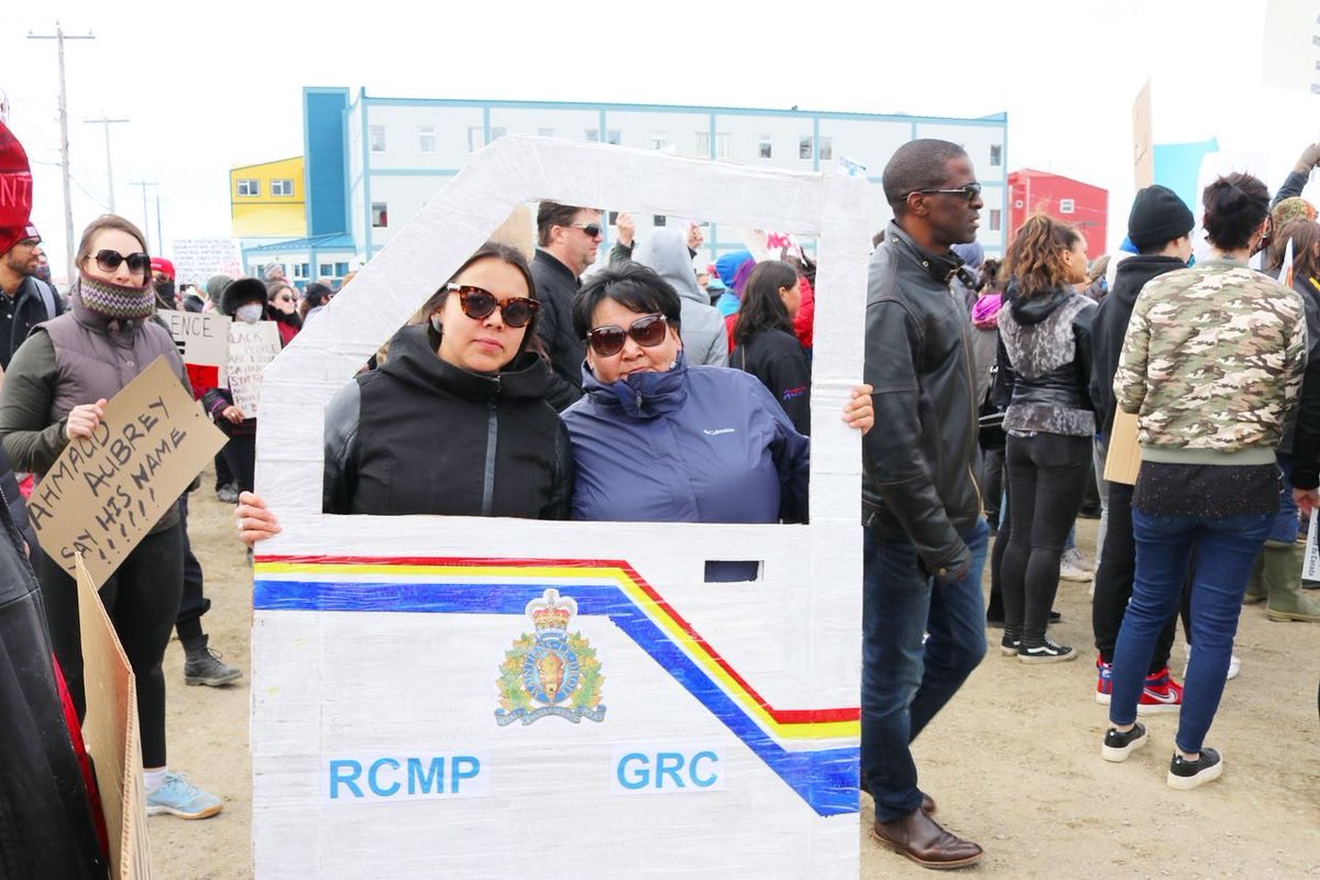 test Twitter Media - Still moved by this rally today & the unity between #Inuit & #BlackLivesMatter #Iqaluit #Nunavut https://t.co/j5XGQTejl6