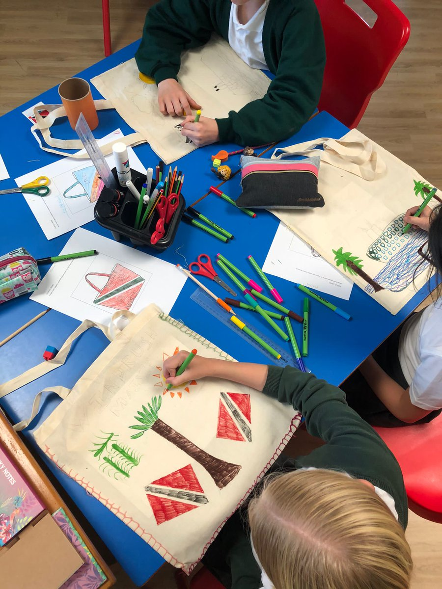 test Twitter Media - Year 6 have enjoyed this week's Design and Technology project to make a bag for a passenger on the MV Empire Windrush. https://t.co/SXWVVk4guX