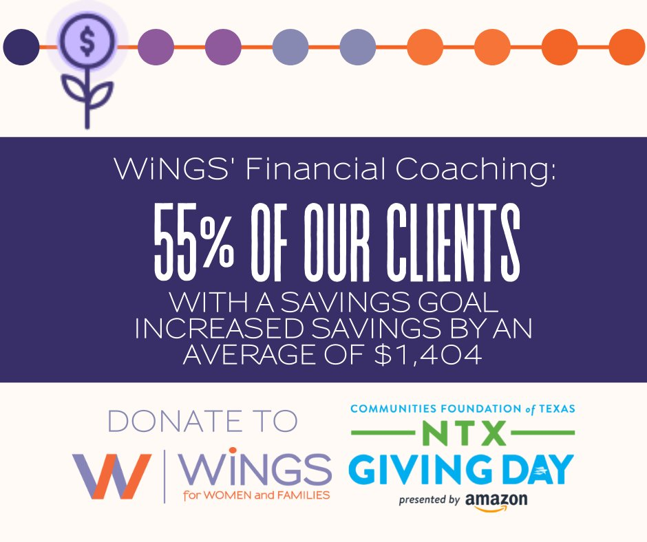 test Twitter Media - Tomorrow is the big day! You can empower women, families, and children on North Texas Giving Day by making a gift of $25 or more: https://t.co/QEzpXA8go4. Your gift provides one-on- one financial coaching to help a women reduce debt! #NTxGivingDay https://t.co/vpR6QKARQY