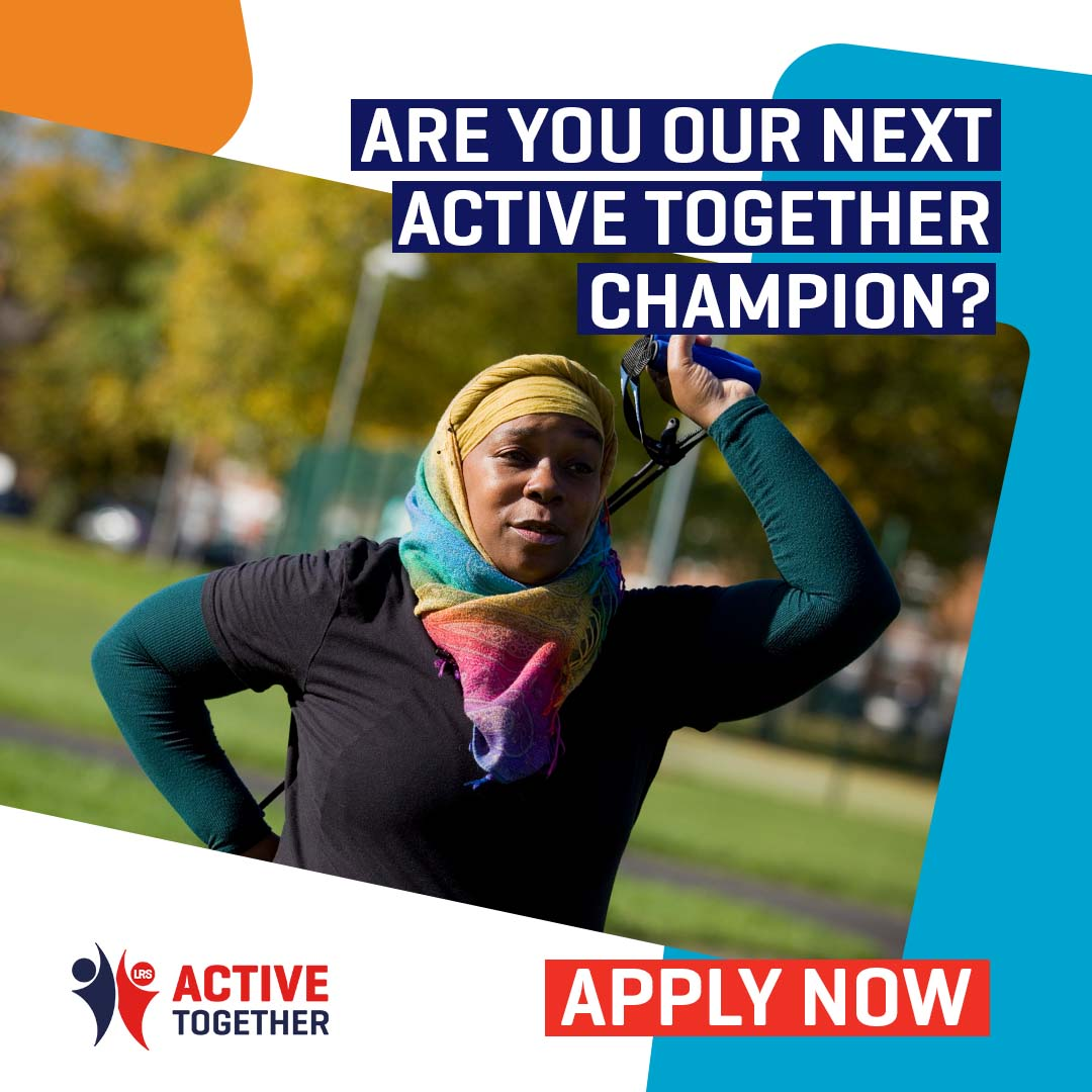 RT @ActiveLLR: Help us share the message far and wide that physical activity and moving more is good for you! Whether you love a walk in the local park or attend activity sessions at the leisure centre, we want you to help us champion Active Together. More info 👉 https://t.co/Iv7v1z5UWQ 🤸😀