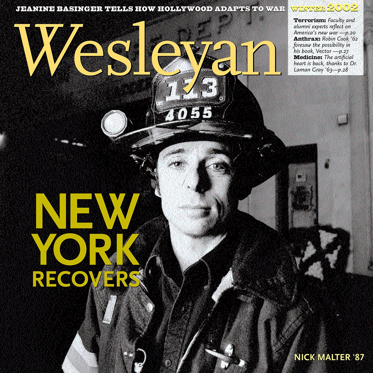 test Twitter Media - Today we reflect on the many members of our community who were impacted by 9/11. We honor their memory with a look back at Wesleyan magazine's coverage of the recovery efforts and words of resilience from alumni and friends who were there: https://t.co/6eqnTxvNB4 https://t.co/OVBAM5TK2k