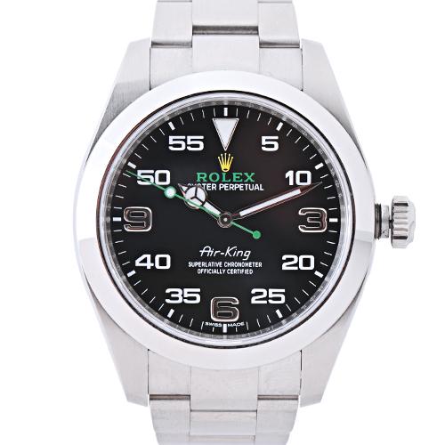 test ツイッターメディア - 「ロレックス エアキング」をお預かりいたしました。こちら預託使用料が毎月19,900円キャッシュバックとなります。普段使っていない腕時計を「トケマッチ」に預託ください。レンタルに貸し出すことで安定した収益を得ることができます #ロレックス #エアキング #時計欲しい #時計好きと繋がりたい https://t.co/VgwnMbxGR8