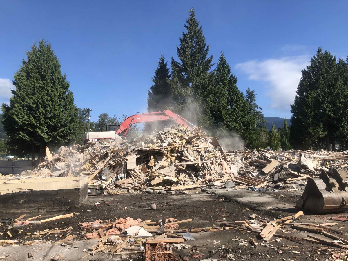 test Twitter Media - Demolition is complete and crushing of the concrete parkade is underway at our Affordable Pinetree project on Ozada Ave. in Coquitlam. #AffordableHousingAdvisoryAssociation #TerraHousing https://t.co/vJCQbguA53