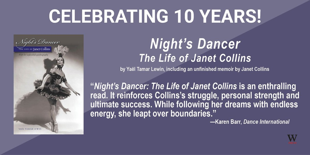 test Twitter Media - 9/13/21 is the 10th anniversary of Night's Dancer: The Life of Janet Collins, winner of the Marfield Prize from the Arts Club of Washington. @artsclubdc #BlackExcellence #blackballet #metballet #metoperaballet #janetcollins #blackdance Read more: https://t.co/CF6cdIcVDB https://t.co/KSMEsAVXnq