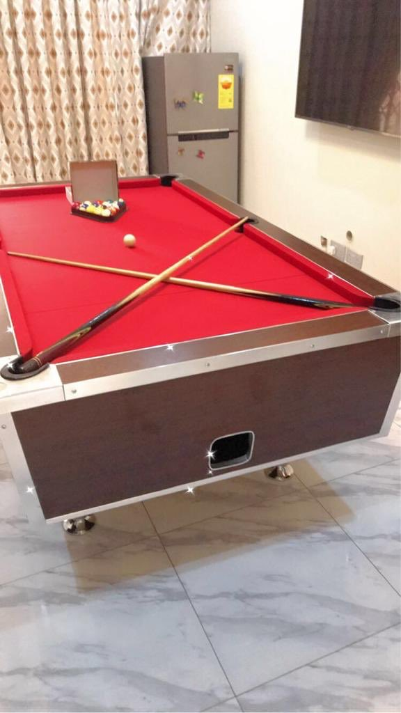 RT @Boare10: Coin operated marble top pool table for sale. Contact...