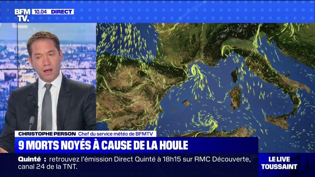 Comment s'est formée la houle au large de la Méditerranée ?