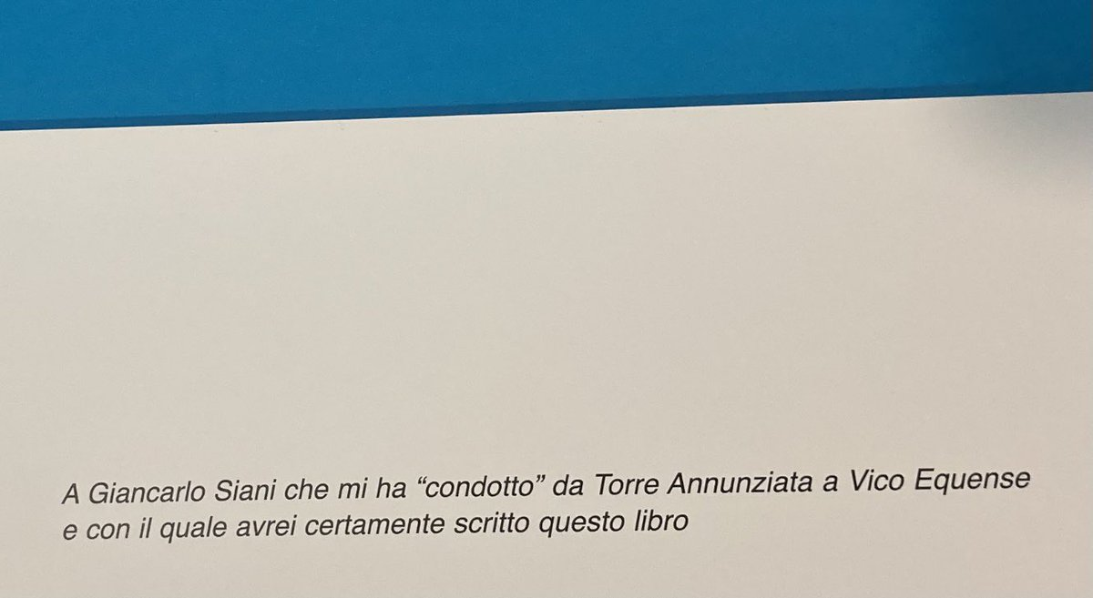 test Twitter Media - Questa sera mi sono ricordato che questo libro che racconta #VicoEquense lo dedicai a #GiancarloSiani … https://t.co/gh9oXx0rmQ