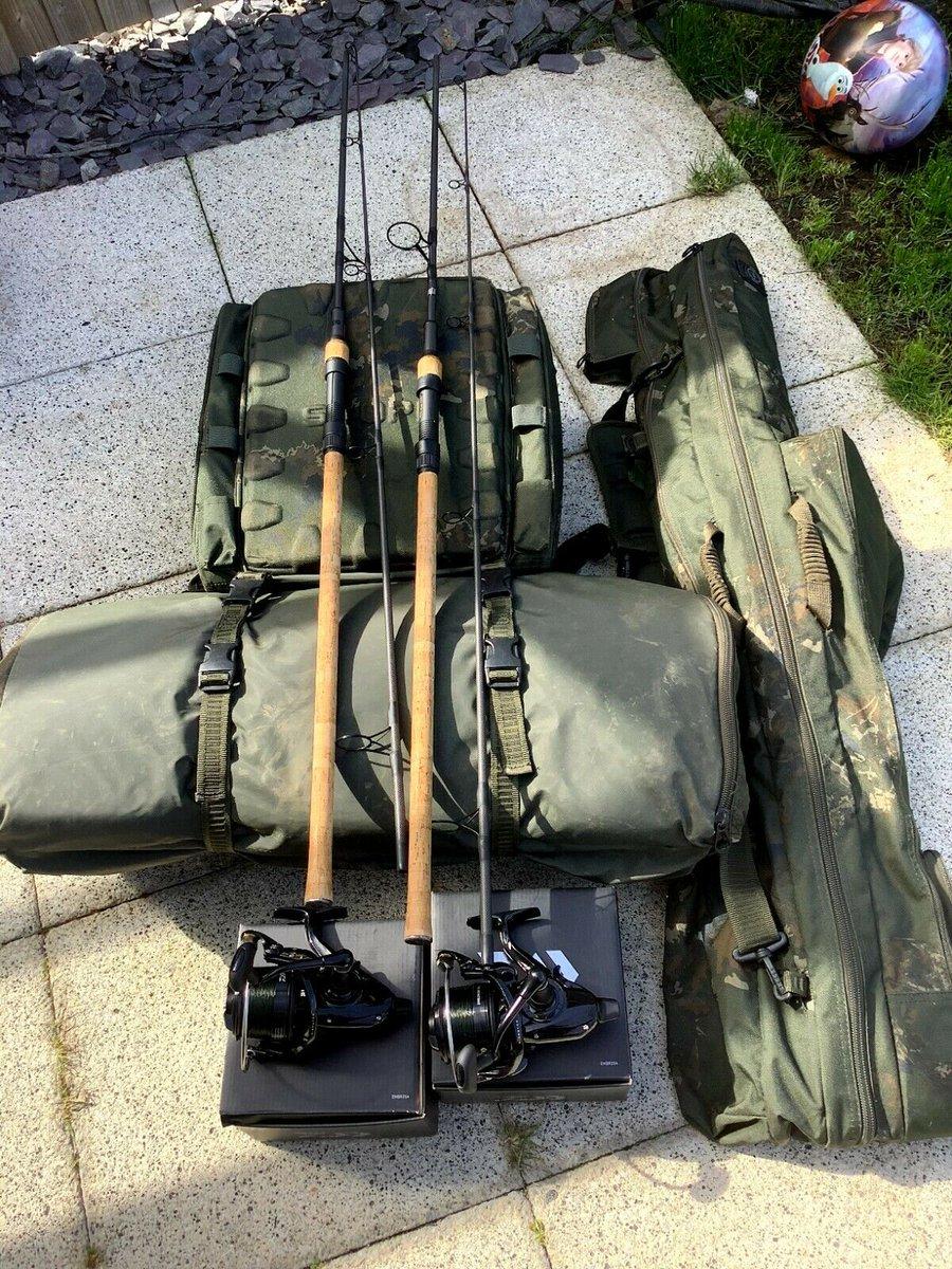 Ad - Nash Scope 9ft Setup On eBay here -->> https://t.co/RkO8s8RIS9  #carpfishing #fishingtack