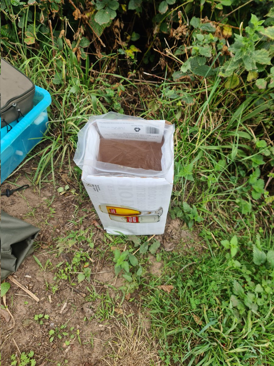 When your <b>Bank</b>side and you've run out of bin bags. #thestruggleisreal #readyaimfire #carpfish