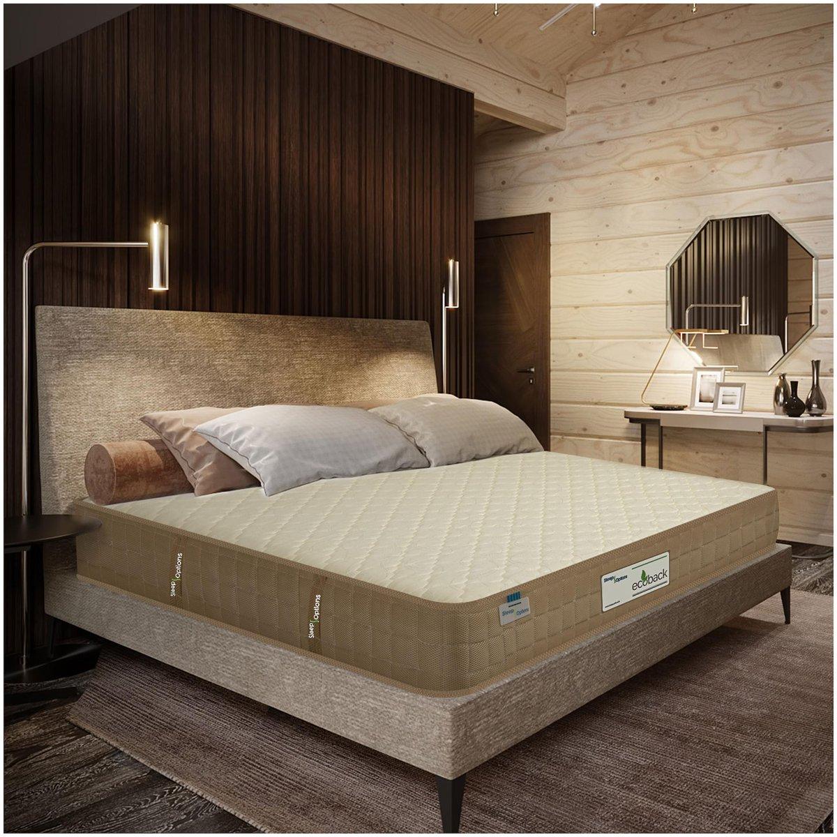 Sleep Options 4 inch Foam Double Mattress, | ajarstore ₹6629.0...