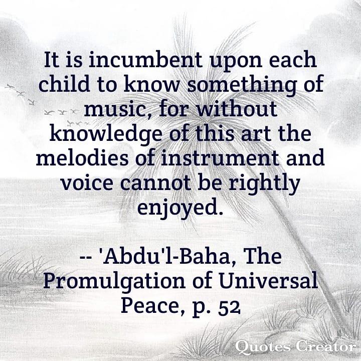test Twitter Media - Quote of the day ... #Bahai #Quotation #English #BahaiQuotation #Abdulbaha #Bahailotustemple #EnglishQuotation #AmabelRainbowStudio https://t.co/KLzE4q5vg1