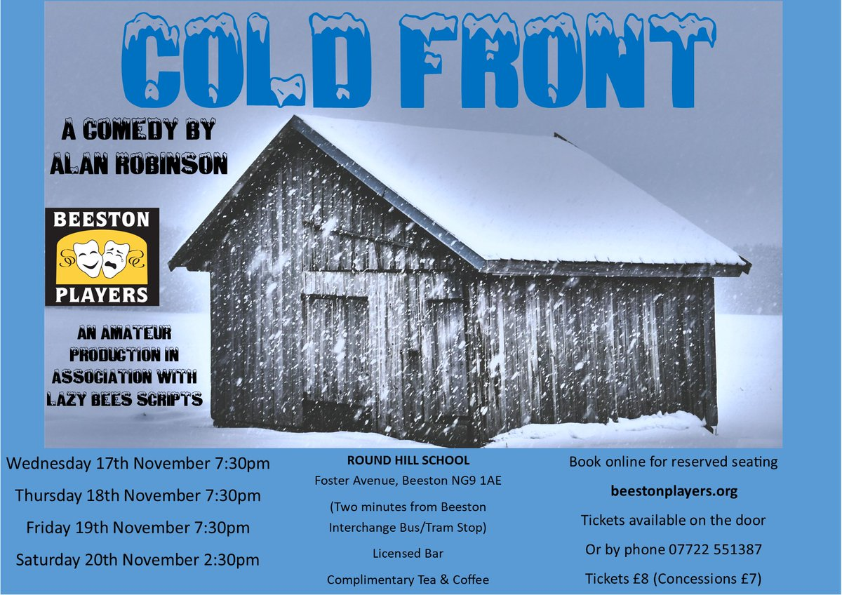 test Twitter Media - Beeston Players are overjoyed to announce our November 2021 production For details see https://t.co/sPxPCiIth7 For tickets online see https://t.co/iwQB84OaZI https://t.co/sWCCRBidVc