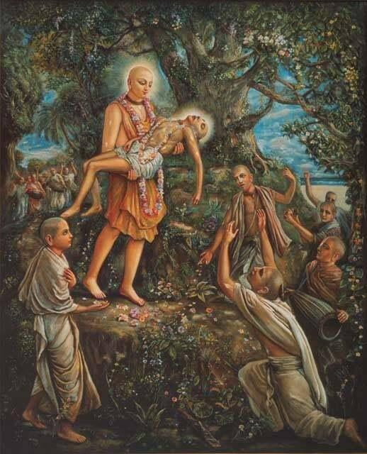 "Namacharya Haridasa Thakur's disappearance dayHaridasa Thakura said, ""I have had one desire ...."