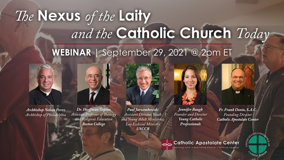 test Twitter Media - Join us and the @CathApostleCtr on September 29 for a webinar about the themes of co-responsibility and synodality in the Church. The conversation will center around several topics and will feature @ArchbishopPerez, @FrFrankSAC, and others!   🔗Register: https://t.co/vyME0LeYyC https://t.co/EZtR2VdINc